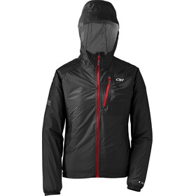 Outdoor Research W's Helium II Jacket Black/Flame